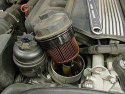 filtro motore auto