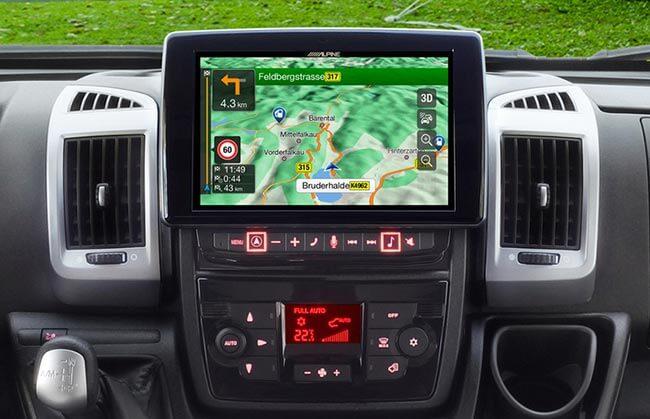 Autoradio con navigatore GPS integrato