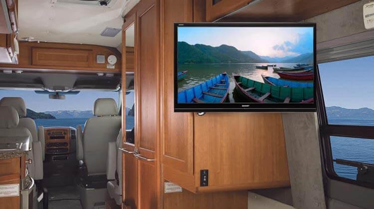 TV per camper a 12 Volt