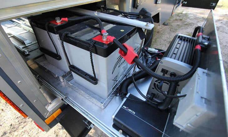 batteria servizi camper