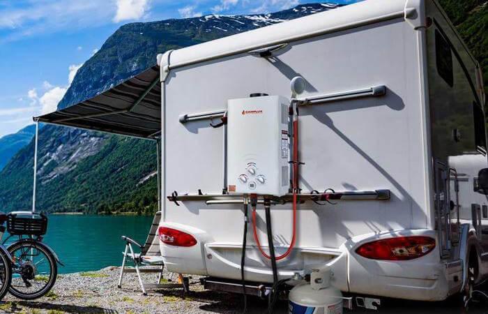 boiler per camper